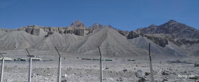 Sand mountains?  amazing erosion pattern